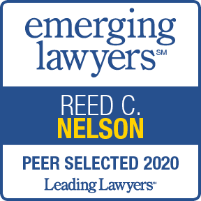 Reed Nelson Emerging Lawyers badge 2020